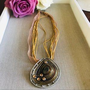 Boho Chic Pendant Necklace